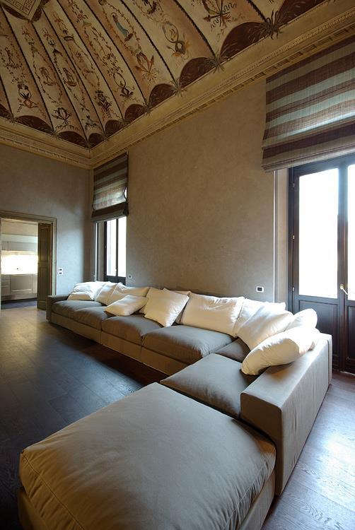 Arredo casa e ufficio in palazzo storico a Mantova