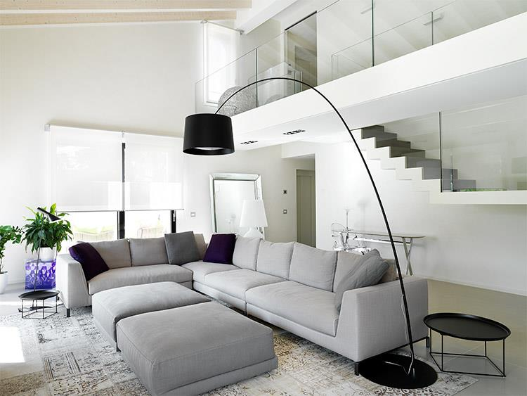Interni di ville immagini per progetti ville moderne di for Progetti di casa di lusso e planimetrie